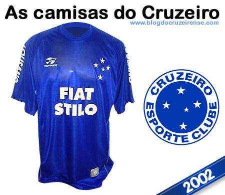 Camisas históricas do Cruzeiro - 2002