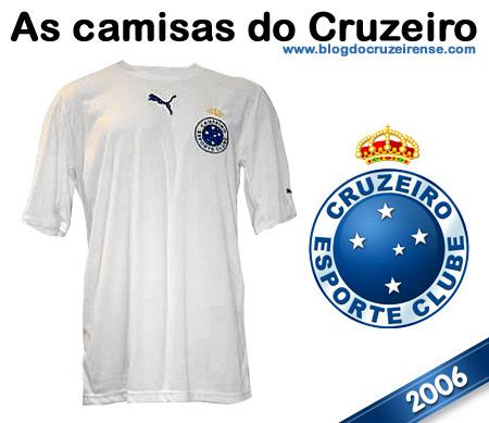 Camisas históricas do Cruzeiro - 2006 (Unif.02)